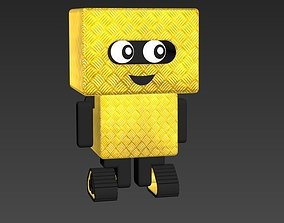 3D Machinery character