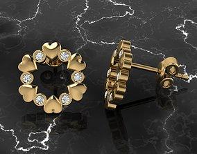 Jewelry Earring 3D printable model gem