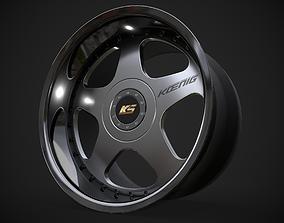 SSR Koenig rim 3D asset