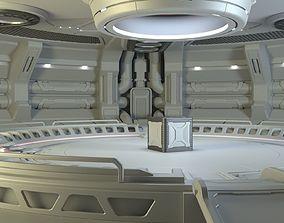 Sci-fi Scene for renders 3D model