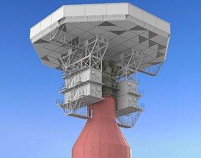 3D model radar station Krona