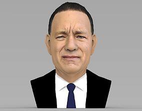 Tom Hanks bust ready for full color 3D