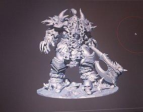 Hero of Storm Thrall hell skin 3D printable model