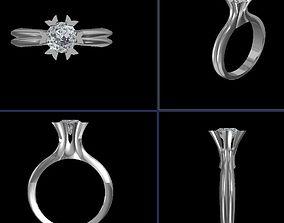 3D print model Engagement Ring 1 CT