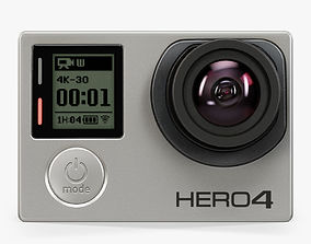 3D model GoPro HERO4 Black Edition