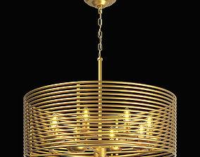 3D 728083 Zeta Lightstar hanging chandelier