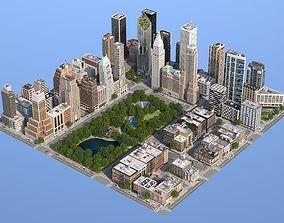 3D model Park City