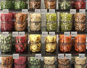 3D Fruit boxes