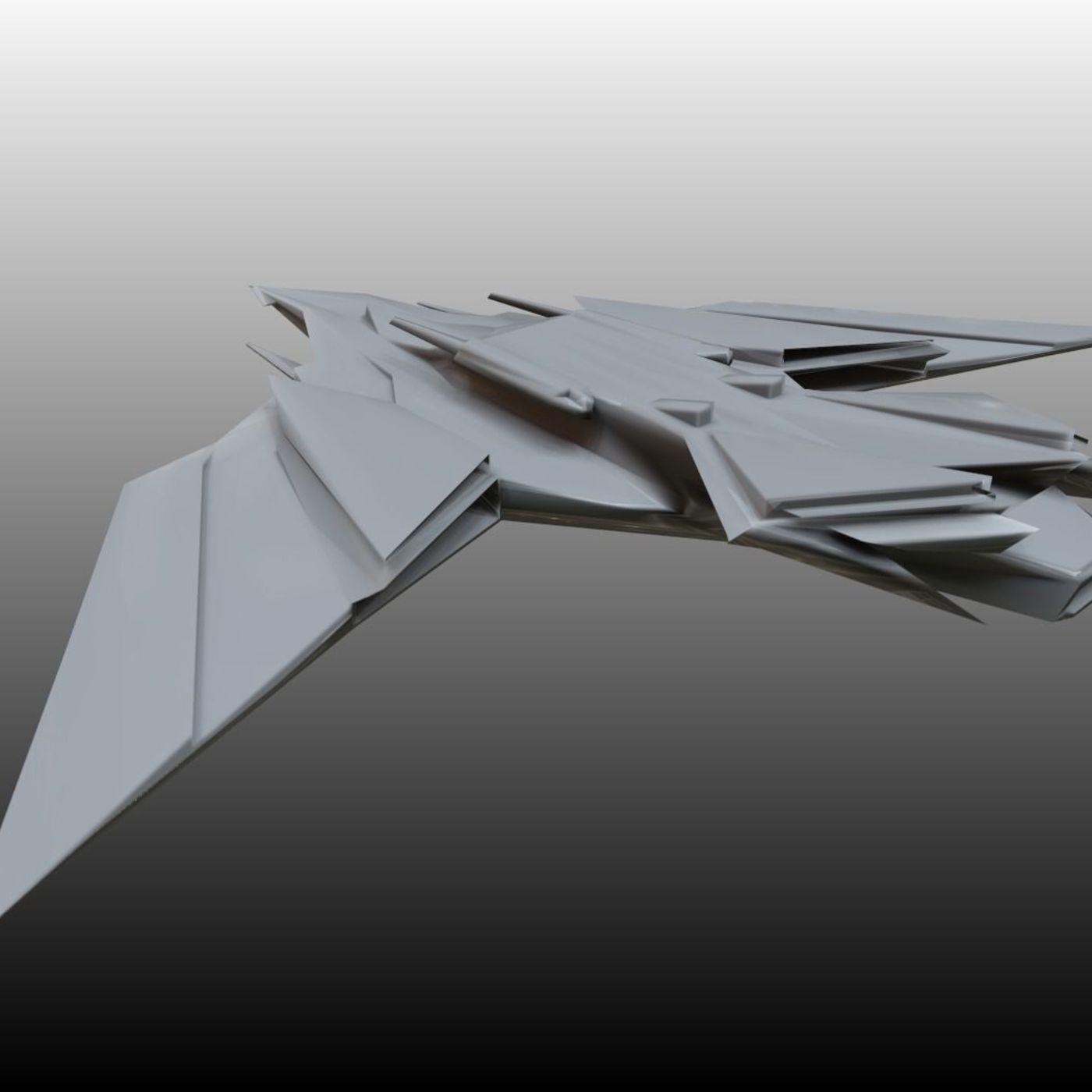 SciFi Jet (textured)