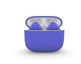 TWS Light blue Earphone Generation 3 3D print model