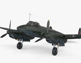 3D model Petlyakov Pe-2 aircraft
