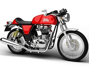 Royal Enfield Continental GT 2017 3D