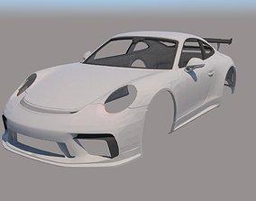 Porsche 911 GT3 3D print model