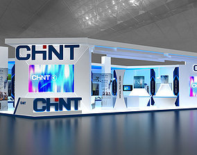 3D model Exhibition stand 20x10mtr