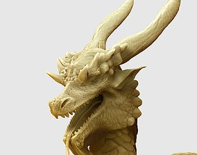 3D model Dragon hi poly