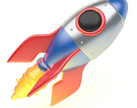 3D model game-ready ROCKET