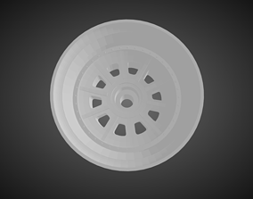 Forgiato FV4 rims for Hot Wheels 3D printable model