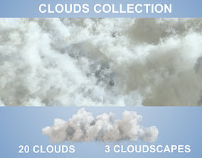 Clouds - 20 PACK - VDB 3D model