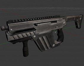 3D model Submachine Gun M24 R