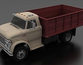 3D model N-Series N-600 Grain Truck 1966