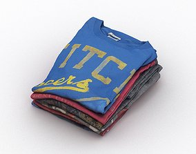T-Shirts 002 3D model