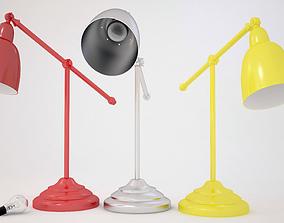 Desk Lamp With Bulb 3D model
