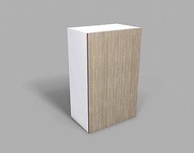 3D model Kitchen Upper Cabinet 50 cm