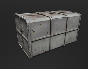 Container 3D asset