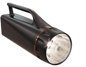 3D model flash light