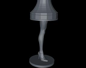 3D print model A Christmas Story Inspired Leg Lamp