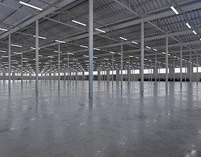 Industrial Warehouse Interior 5b 3D asset