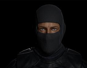 3D asset Tactical Male Soldier for Unreal Engine 4 FBX 2