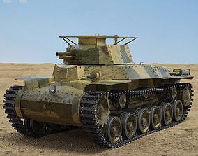 3D model Type 97 Chi-Ha