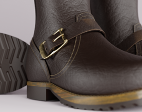 Ankle Boots 3D