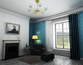 3D model animated interior