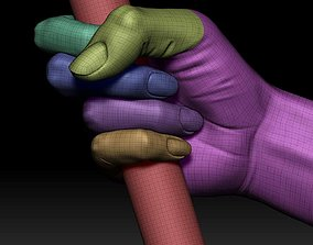 3D printable model Female fist