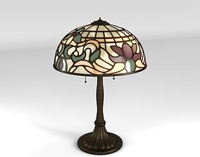 3D model Art Nouveau Lamp 1