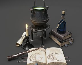 Wizard Items 3D model