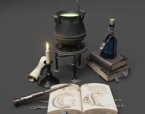 Wizard Items 3D model