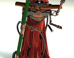 Tech-priest 3D model