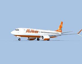 3D Boeing 737-800 Max Jeju Air