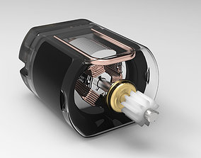 3D model DC Electric Motor SolidWork