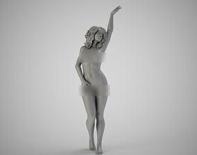 Hand in the Air 3D print model