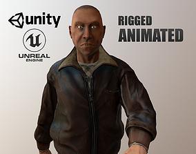 Just man 3D model