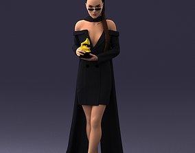 winner Award woman 0218 3D Print Ready