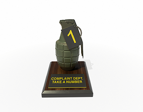 3D model Complaint Department Grenade