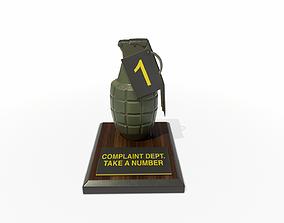 3D model Complaint Department Grenade