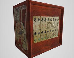 3D Mahjong Tile Set