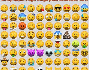 Emoji Super huge Mega pack collection 80 x 3D