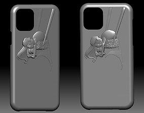 3D print model Iphone 11 case mermaid sushi